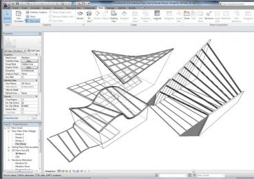 Revit Tip Creating Beam System On Ruled Surfaces   照片图像图像