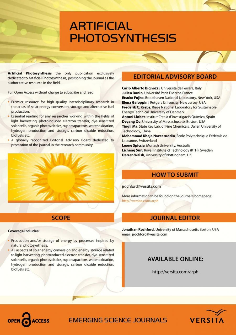 Artificialphotosynthesis Flyer Page