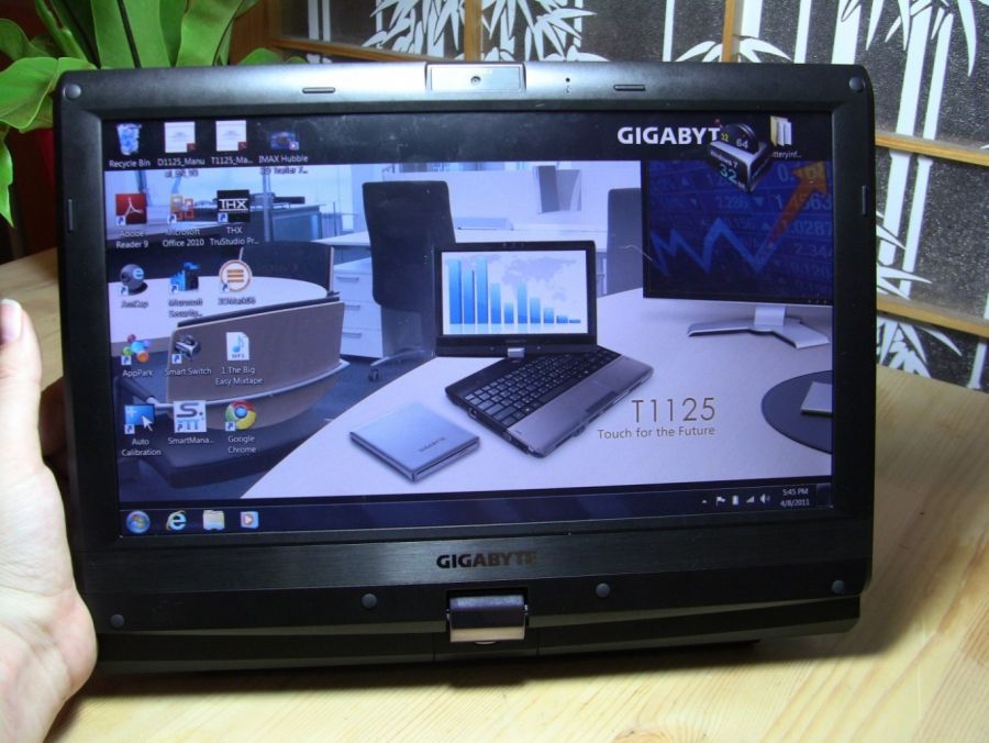 Gigabyte Inch Tablet Convertible Notebook Unboxing Full