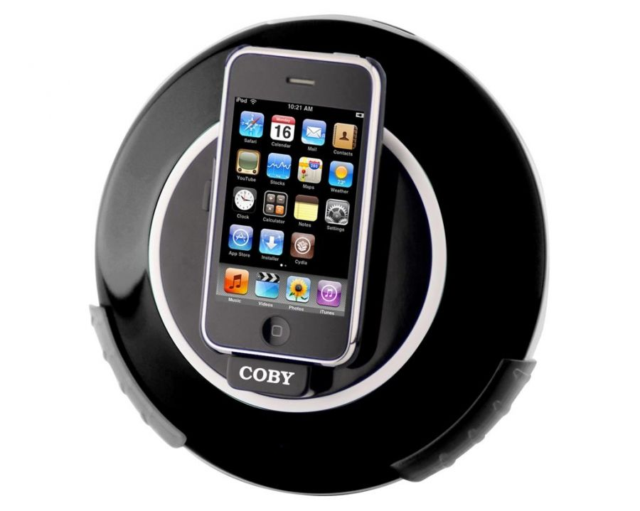 Coby Csmp Ipod Dock Speaker And Charger