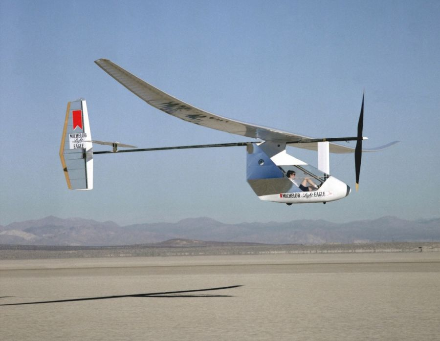 Human-powered helicopter