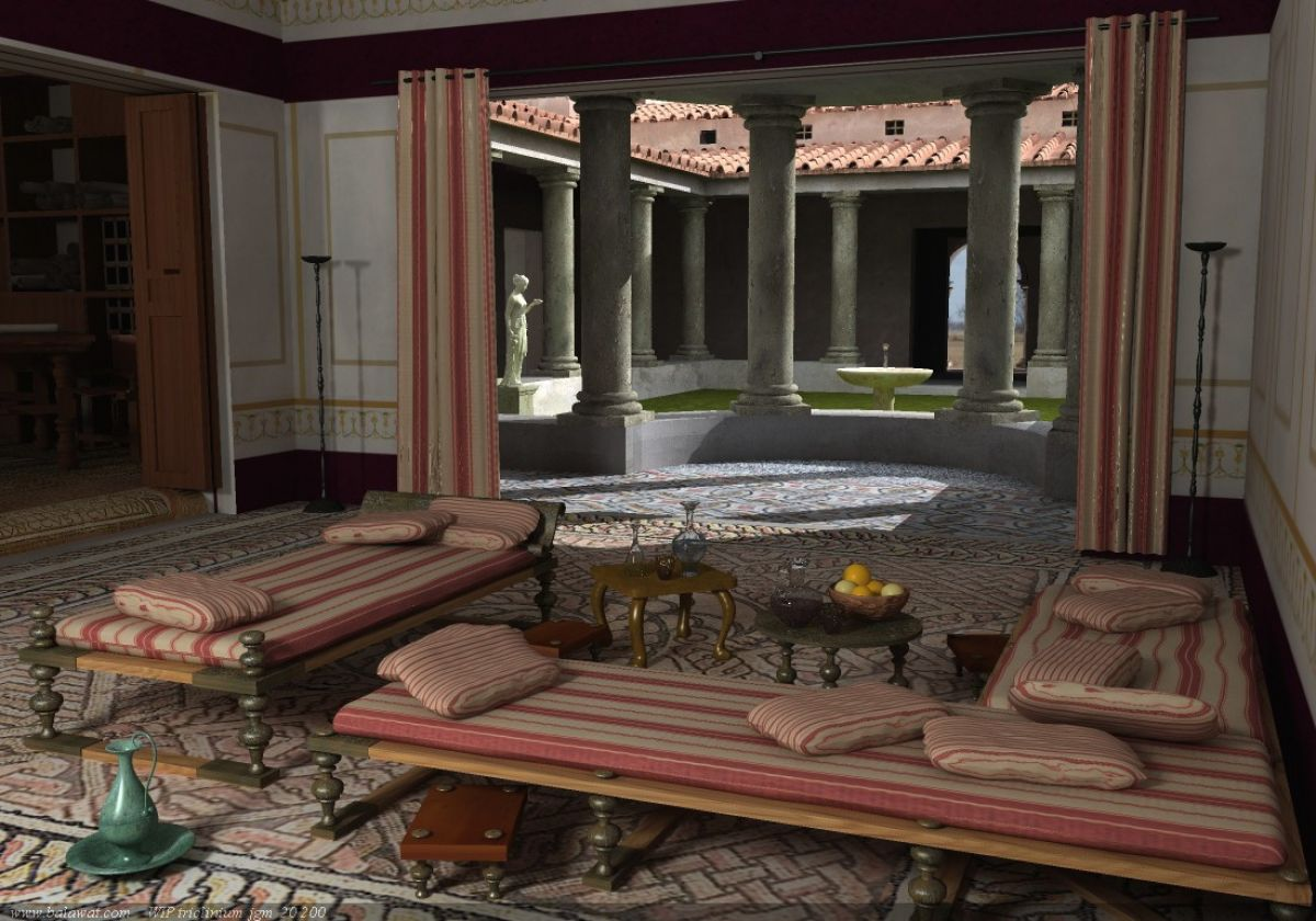 Arredamento Casa Roma l'arredamento delle case romane - capitolivm